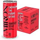 Mirón Fuji Apple All Natural Sparkling Energy Beverage 8.4 Fl.Oz. Cans (Pack of 4)