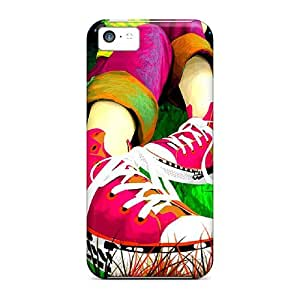 Excellent Iphone 5c Case Tpu Cover Back Skin Protector Converse