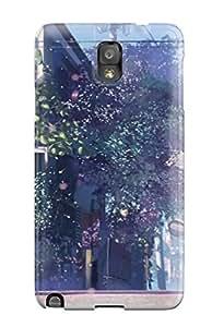 Galaxy Note 3 Case Cover Skin : Premium High Quality 5 Centimeters Per Second Case