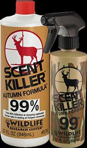 1 – qt. Scent Killer Autumn Formula with FREE 4 – oz. Camo Pump Bottle&Hunting Scent Book