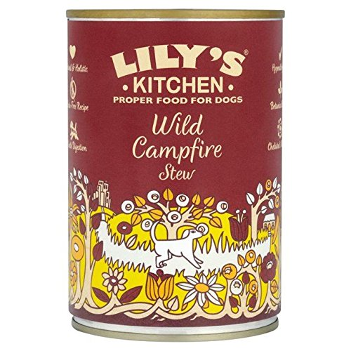Lily's Kitchen Proper Dog Food Wild Campfire Stew 400g (PACK OF 4)
