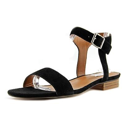 Steve Madden Women's Rusette Black Suede Sandal