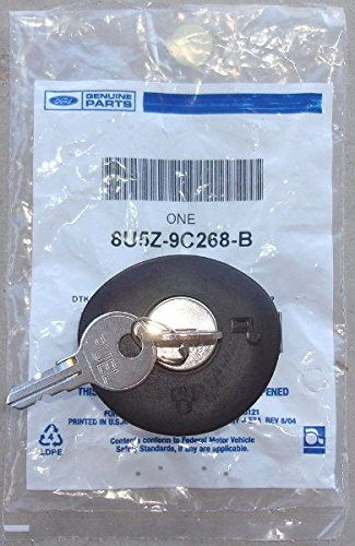 Amazon Com Oem Factory Stock Genuine   Ford Edge Locking Lock Gas Fuel Plug Cap W Keys For Capless Systems Automotive