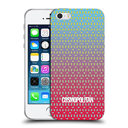 Official Cosmopolitan Ombre 7 Fun Summer Soft Gel Case for Apple iPhone 5 / 5s / SE