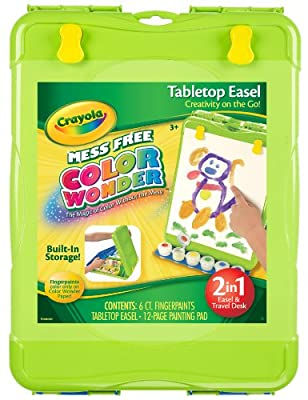 Crayola Color Wonder Table Top Easel from Crayola