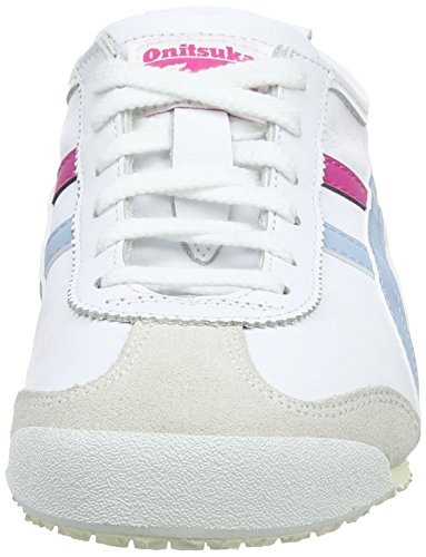Blanc Femme Basses Onitsuka Light Sneakers Blue smoke Mexico 66 Tiger 0140 white Asics qR4wU0HH