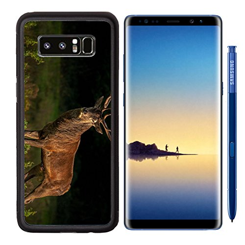 MSD Premium Samsung Galaxy Note8 Aluminum Backplate Bumper Snap Case IMAGE 32646438 Red Deer during the deer rutKillarney National - National City Harbor