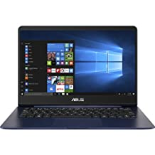 "Asus UX430UA-DB71-BL ZenBook 13.3"" Ultra-Slim Laptop (Core i7, 8GB DDR4, 256GB SSD, Windows 10) Backlit Keyboard, Quartz Grey"