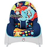 Fisher-Price Infant-to-Toddler Rocker in Midnight Rainforest Plus BONUS Hypoallergenic, Unscented Baby Wipes, 128 Count