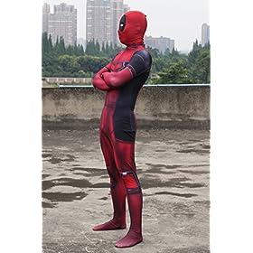 - 51G2tEko JL - Pizone Unisex Spandex Zentai Halloween Onesie Fullbody Elastic Bodysuit Adult/Kids