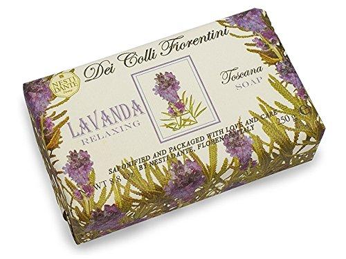 Nesti Dante Nesti dante dei colli fiorentini triple milled vegetal soap - tuscan lavender, 8.8oz, 8.8 Ounce ()