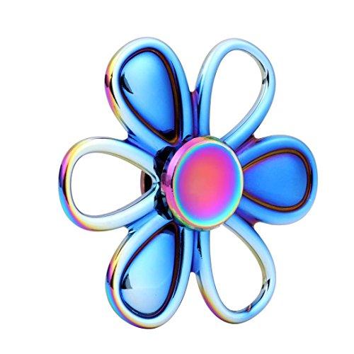 Price comparison product image Fidget Spinner Rainbow Color Bokeley Finger Spinner Fidget Toy EDC Spinner Gifts For Men/Kids