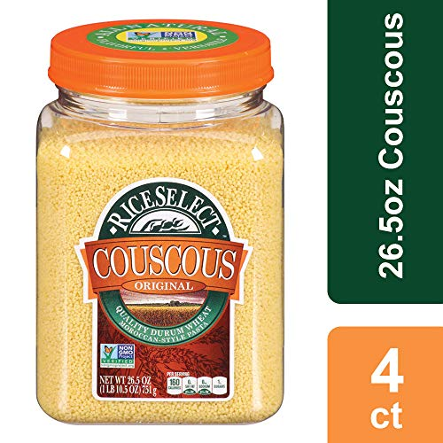 RiceSelect Original Couscous, 26.5 oz Jars (Pack of, used for sale  Delivered anywhere in USA