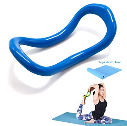 YNXing Yoga Equipment Yoga Ring Pilates Ring Fitness Circle Training Resistance Support Tool Calf Massage Home Training