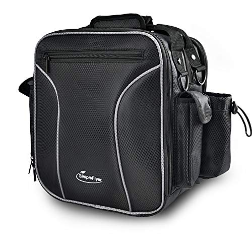 Simple Flyer Alpha Pilot Headset Flight Bag (Black)