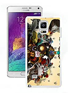 Unique And Antiskid Designed Cover Case For Samsung Galaxy Note 4 N910A N910T N910P N910V N910R4 With tinker dota 2 White Phone Case
