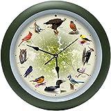 Mark Feldstein Limited Edition 20th Anniversary Singing Bird Clock, 13 Inch