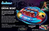 Pool Candy Illuminated Drink Boat by Pool Candy