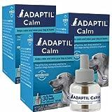 3 PACK ADAPTIL (D.A.P.) Dog Appeasing Pheromone REFILL (144mL)