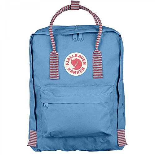 Fjallraven - Kanken Classic Pack, Heritage and Responsibility Since 1960, Air Blue-Striped