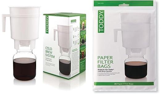 Toddy - Bolsa de papel con filtro para bebé (20 unidades ...