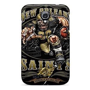 New Style Tpu S4 Protective Cases Covers/ Galaxy Cases - New Orleans Saints Black Friday