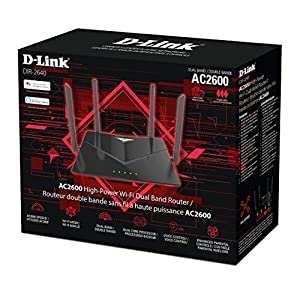 D-Link Smart AC2600 High-Power Wi-Fi Gigabit Router With Voice Control/Amazon Alexa Or Google Assistant, Enhanced…