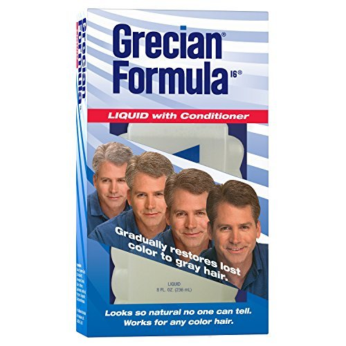 Grecian Formula Plus - Grecian Formula Liquid With Conditioner For Hair 8 oz (pack of 3)