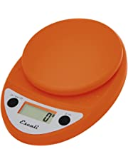 Primo Digital Kitchen Scale 11Lb/5Kg, Pumpkin Orange
