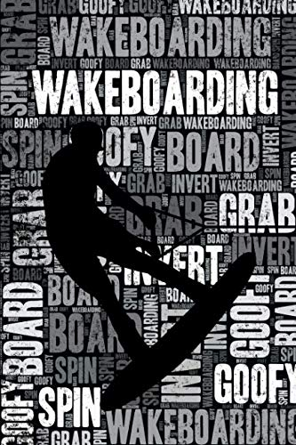Wakeboarding Journal: Cool Blank...