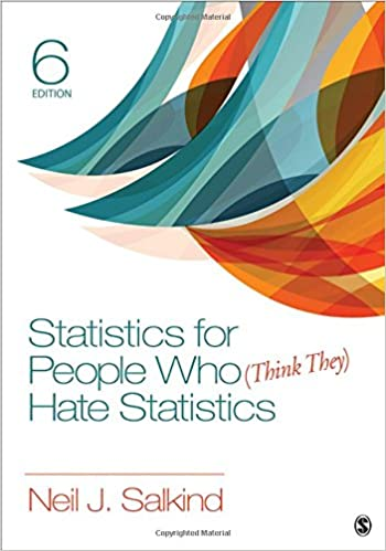 Amazon statistics for people who think they hate statistics statistics for people who think they hate statistics 6th edition fandeluxe Gallery