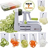 Brieftons 7-Blade Spiralizer: Strongest-and-Heaviest Duty Vegetable Spiral Slicer - Best Reviews Guide