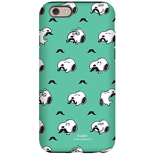 CafePress - Mustached Snoopy iPhone 6 Tough Case - iPhone 6/6s Phone Case, Tough Phone Shell