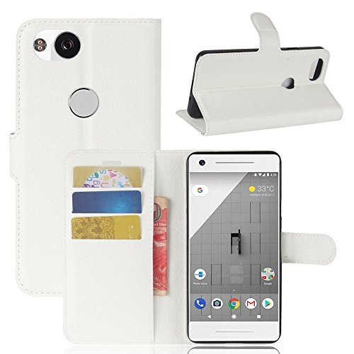 Holder Google Blue For 2 Cover Zhuhaixmy Folio Leather Protective Pixel White Pouch Skin Wallet Case PEExdq