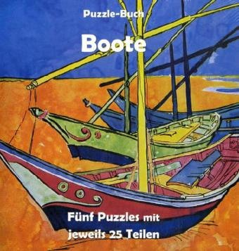 Boote: Puzzle-Buch