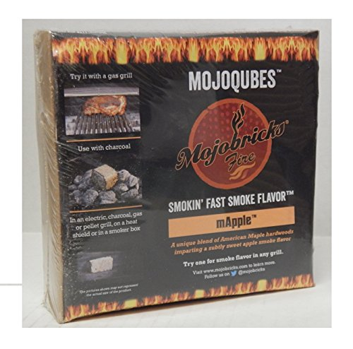 Mojobricks mApple MojoQubes - Maple and Apple Blend for Low and Slow Cooks by Mojobricks