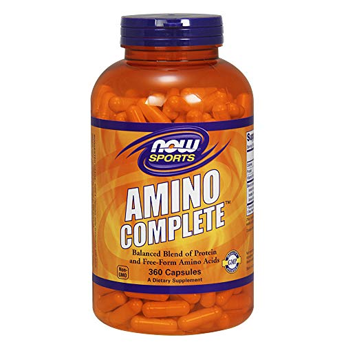 - NOW Sports Amino Complete,360 Capsules