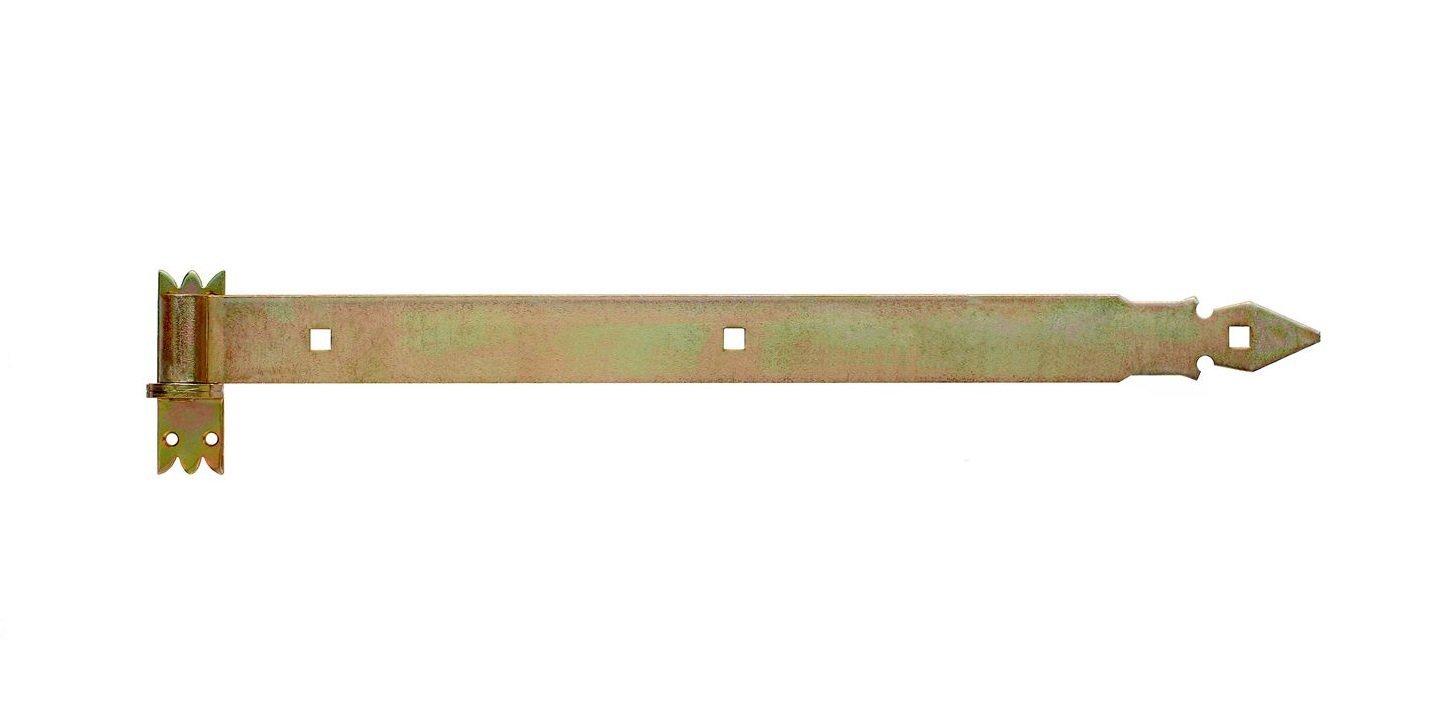 400 schwarz pulverbeschichtet 2 x Ladenband f/ür 14 mm Dorn 2 x Kloben verzinkt oder schwarz