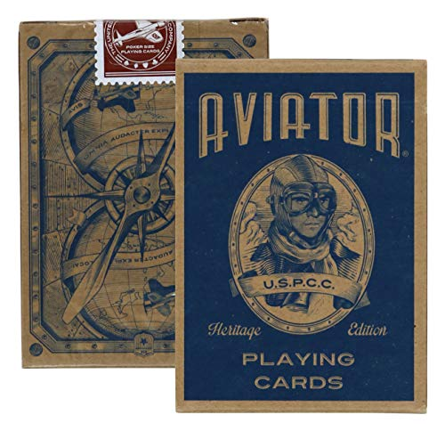 - Aviator Heritage Edition Poker Use Playing Cards, 2 Decks
