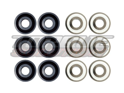 Torque Solution TS-POR-005 Solid Rear Sub Frame Bushings(Porsche 911 996/997 All)