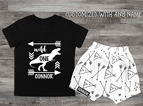 Wild One Boy Clothes 1st Birthday Shirt Boys 1 Year