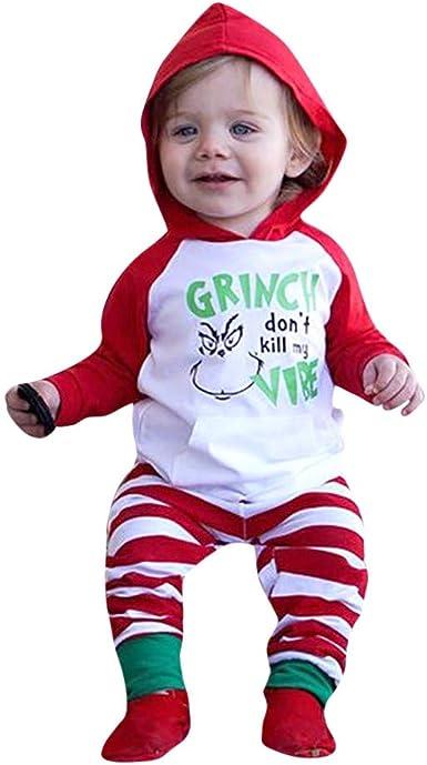 K-youth Ropa Bebe Niño Navidad Ropa para Niño Recien Nacido ...