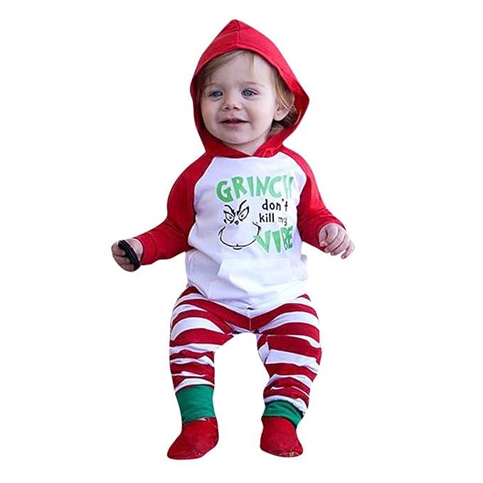 K-youth Ropa Bebe Niño Navidad Ropa para Niño Recien Nacido Invierno ...