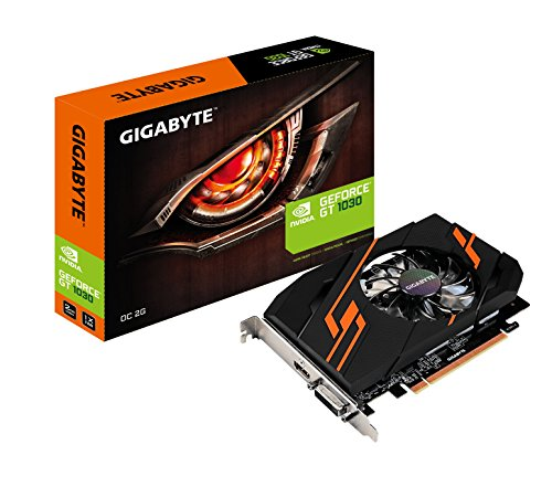 (Gigabyte GV-N1030OC-2GI Nvidia GeForce GT 1030 OC 2G Graphics Card)