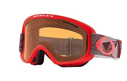 c8031fa503 Image Unavailable. Image not available for. Color  Oakley O Frame XM 2.0  Snow Goggles Prizmatic Coral Iron with Persimmon and Dark Gray Lens