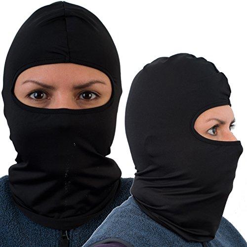 Balaclava Ski Mask, Premium Black Motorcycle Face Mask Image