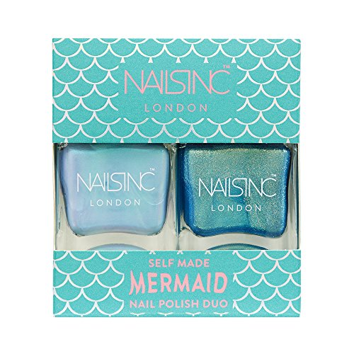 Nail Duo - Nails inc Self - Made Mermaid Nail Polish Duo