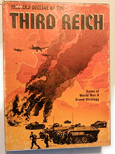 Rise and Decline of the Third Reich: Game of World War II Grand Strategy Bookcase Game 813 by Avalon Hill