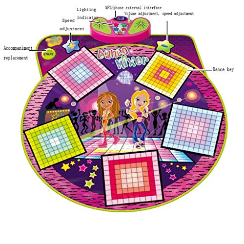 Children's Educational Parent-Child Game Music pad Dance pad Girls Baby Girl Toys Birthday gifts-93x91cm by AA-SS-Music Mat (Image #2)