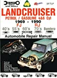 img - for Landcruiser Petrol/Gasoline 4 & 6 cyl 1969-90 Auto Repair Manual-Toyota FJ,RJ,40's 55's 70's Bundera (Max Ellery's Vehicle Repair Manuals) book / textbook / text book